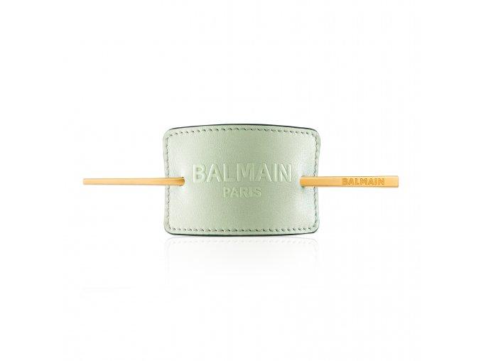 BalmainHair Accessories HairBarrette LimitedEdition SpringSummer20 PastelGreen