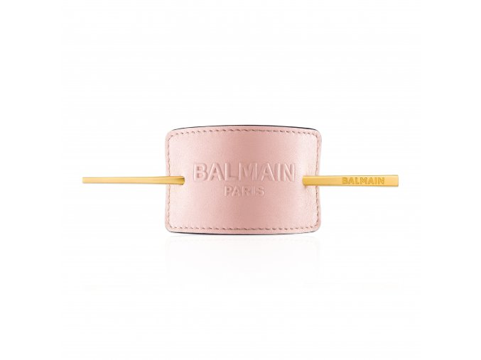 BalmainHair Accessories HairBarrette LimitedEdition SpringSummer20 PastelPink
