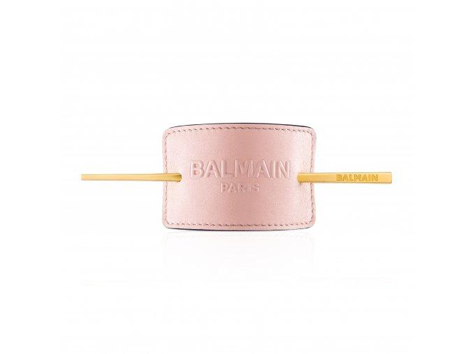 BalmainHair Accessories HairBarrette LimitedEdition SpringSummer20 PastelPink