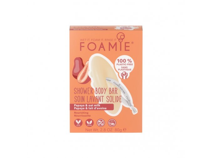 foamie shower body bar oat to be smooth
