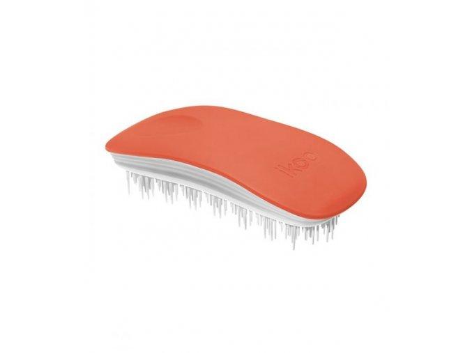 Ikoo Home Brush Paradise Orange Bloosom, kartáč na vlasy podle tradiční čínské medicíny, matný oranžový
