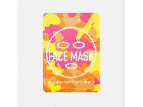 KOCOSTAR Camouflage Face Mask, pleťová maska