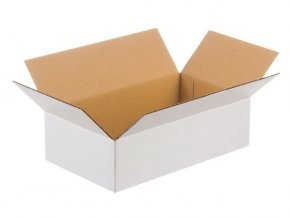 biela kartonova krabica 250x200x150 365g 20ks