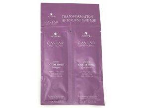 Vzorek Alterna Caviar Infinite Color Hold duo (Shampoo+Conditioner 10 ml)
