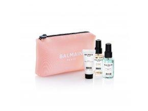 BalmainHair CosmeticBag LimitedEdition SpringSummer20 Pink