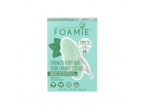 foamie shower body bar mint to be fresh