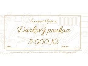 Poukaz 5000 Kč