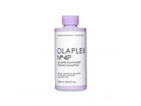 olaplex no 4 p blonde enhancer toning shampoo 250 ml