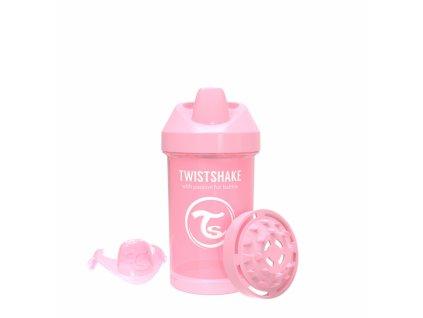 Twistshake Láhev pro batolata 300ml - Růžová