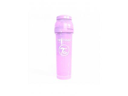 twistshake kojenecka lahev anti colic 330ml levandule