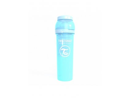 twistshake kojenecka lahev anti colic 330ml baby blue