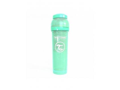 twistshake kojenecka lahev anti colic 330ml mint