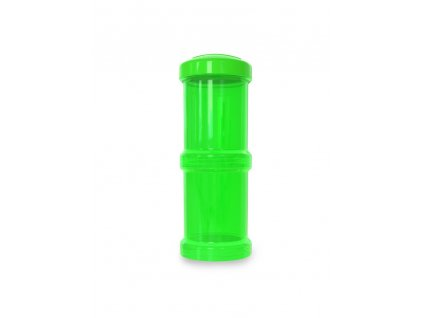 twistshake 2x zasobnik 100ml zelena