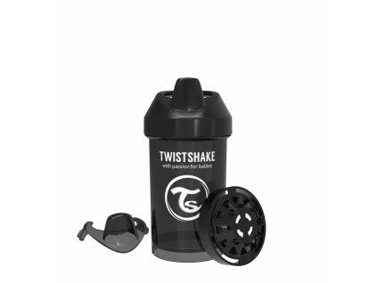 Twistshake Láhev pro batolata 300ml - Černá