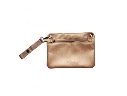 Malá kabelka pře rameno Zlatá