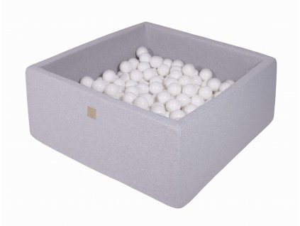 Gotowy zestaw kwadratowy basen z kulkami 000049