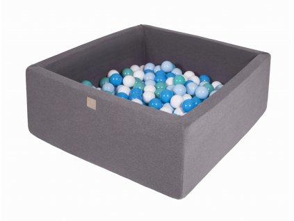 Gotowy zestaw kwadratowy basen z kulkami 00009