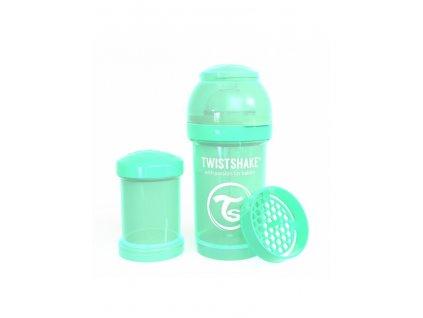 twistshake pastel kojenecka lahev anti colic 180ml