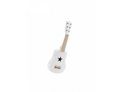 kids concept kytara drevena bila