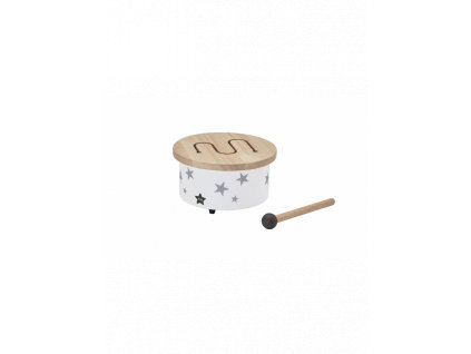 kids concept mini bubinek dreveny white