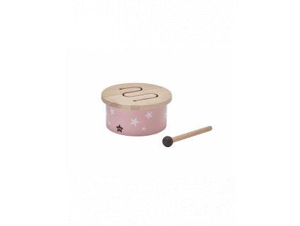 kids concept mini bubinek dreveny pink