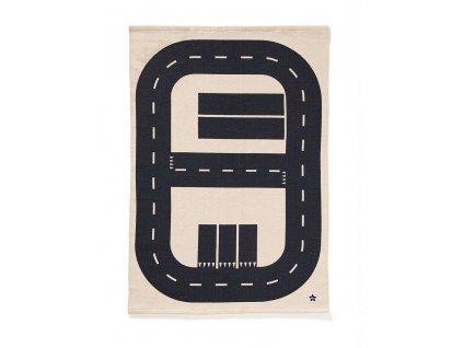 kids concept koberec silnice aiden 90x130 cm