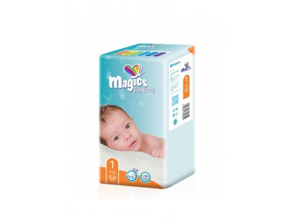 magics flexidry vel1 newborn 2 5kg 50 ks