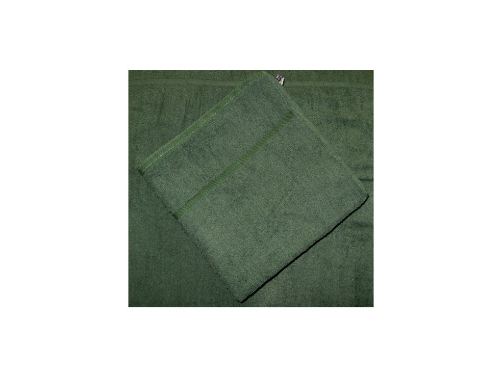 Osuška froté 70x140 - tmavě zelená