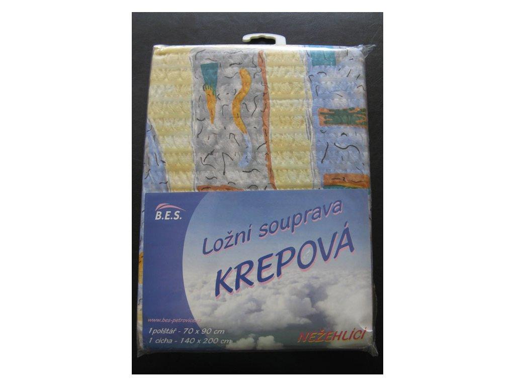 Krepové povlečení 140x200 - Krasomila