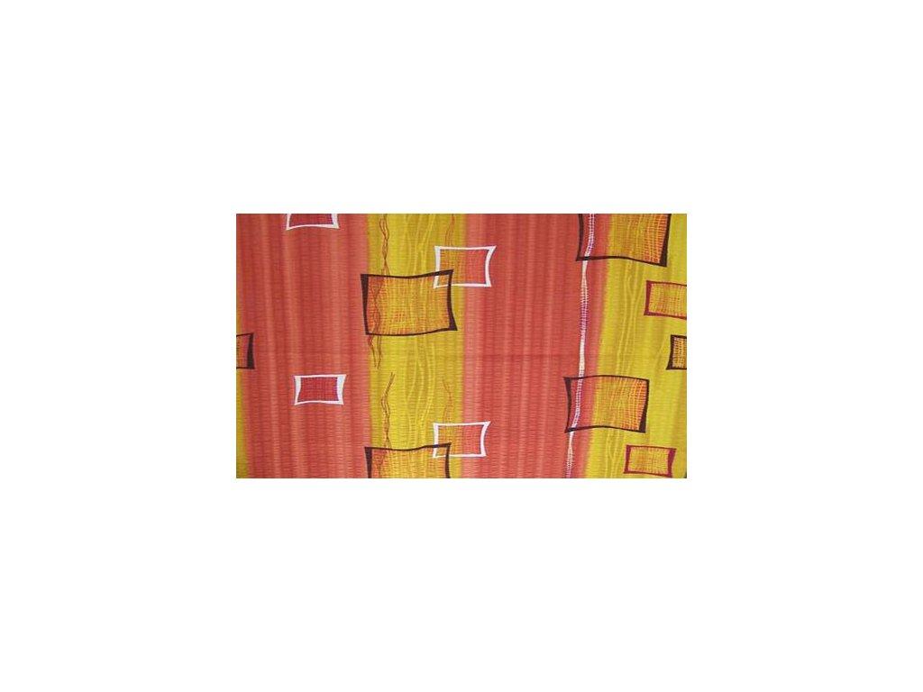 Krepové povlečení 140x200 - Okna medová