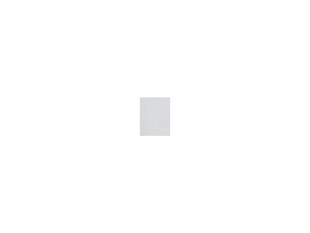 Kulaté sametové prostěradlo - bílá