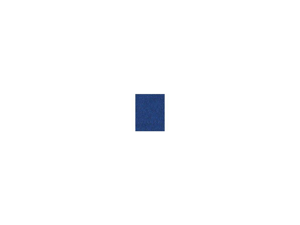 Kulaté sametové prostěradlo - námořní modř