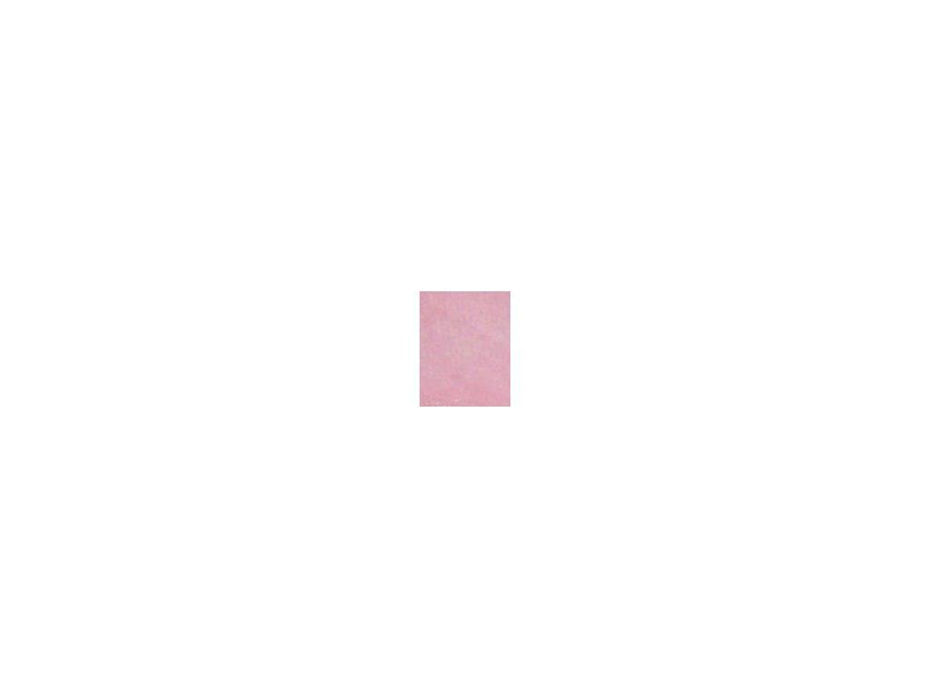Kulaté sametové prostěradlo - růžová