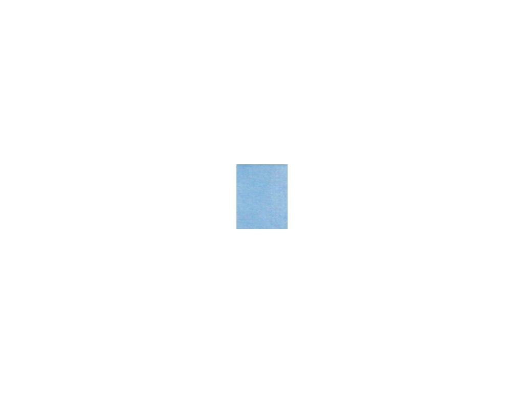 Kulaté sametové prostěradlo - světle modrá