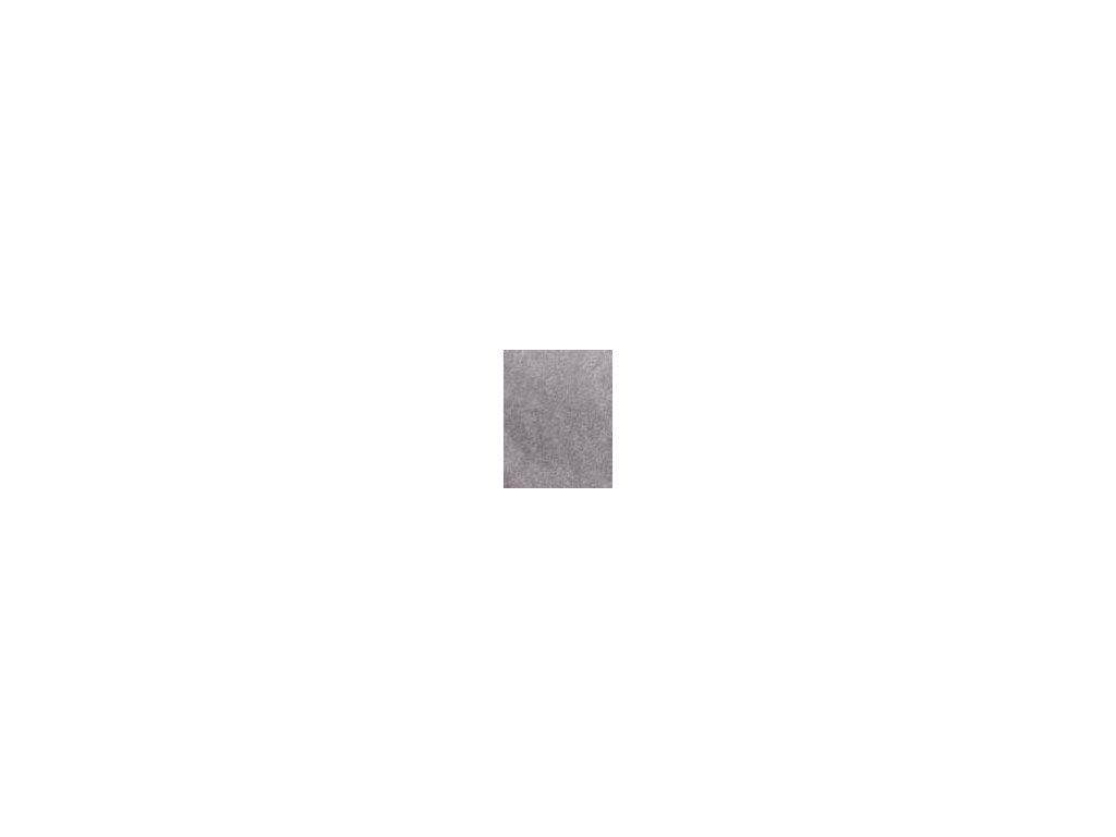 Kulaté sametové prostěradlo - šedá