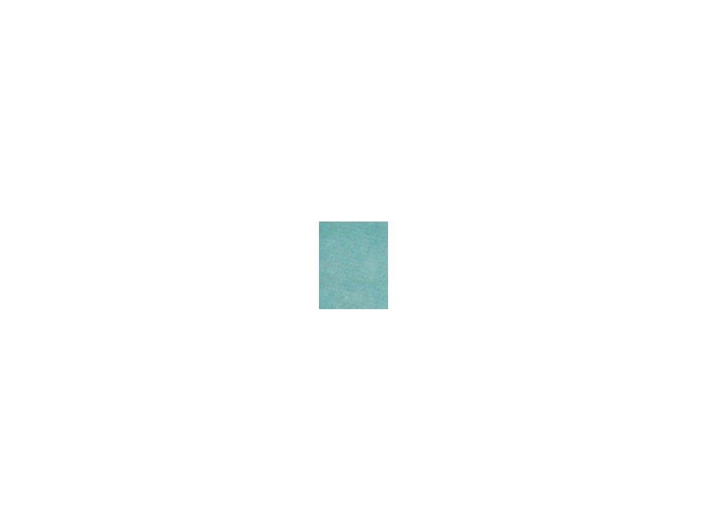 Kulaté sametové prostěradlo - tyrkysová