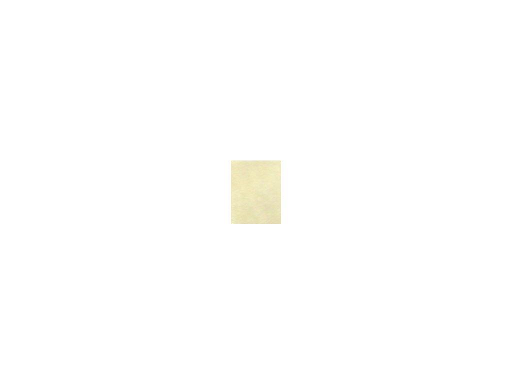 Kulaté sametové prostěradlo - vanilková