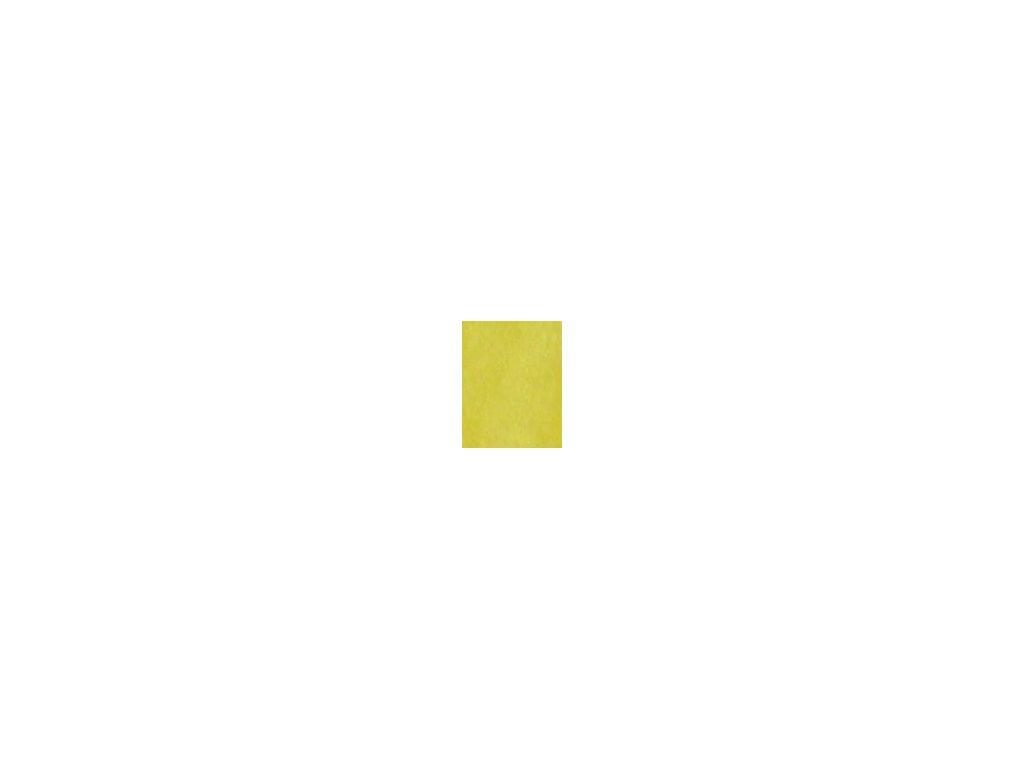 Kulaté sametové prostěradlo - žlutá