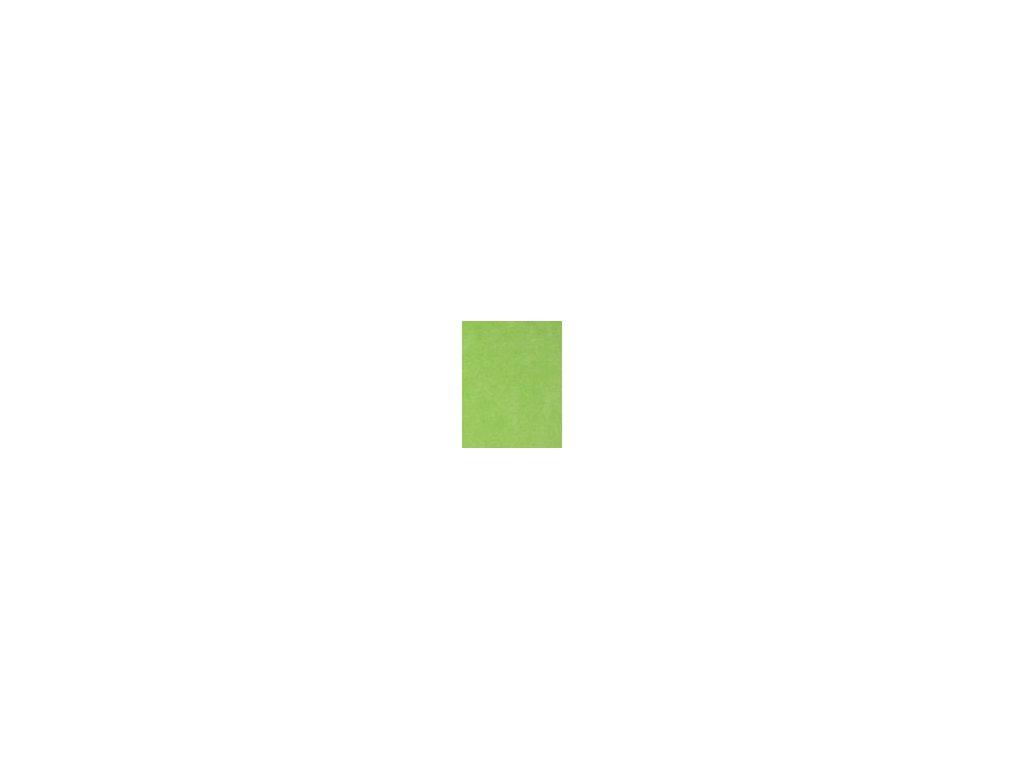 Sametové prostěradlo - světle zelená