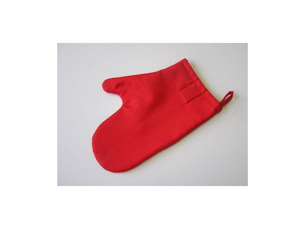 Kuchyňská chňapka - červená