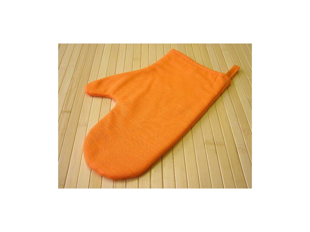 Kuchyňská chňapka - oranžová