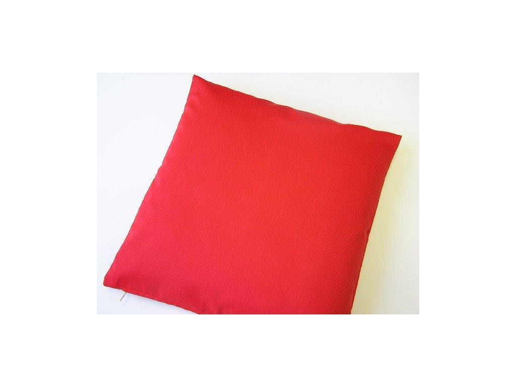 Povlak na polštář - červený