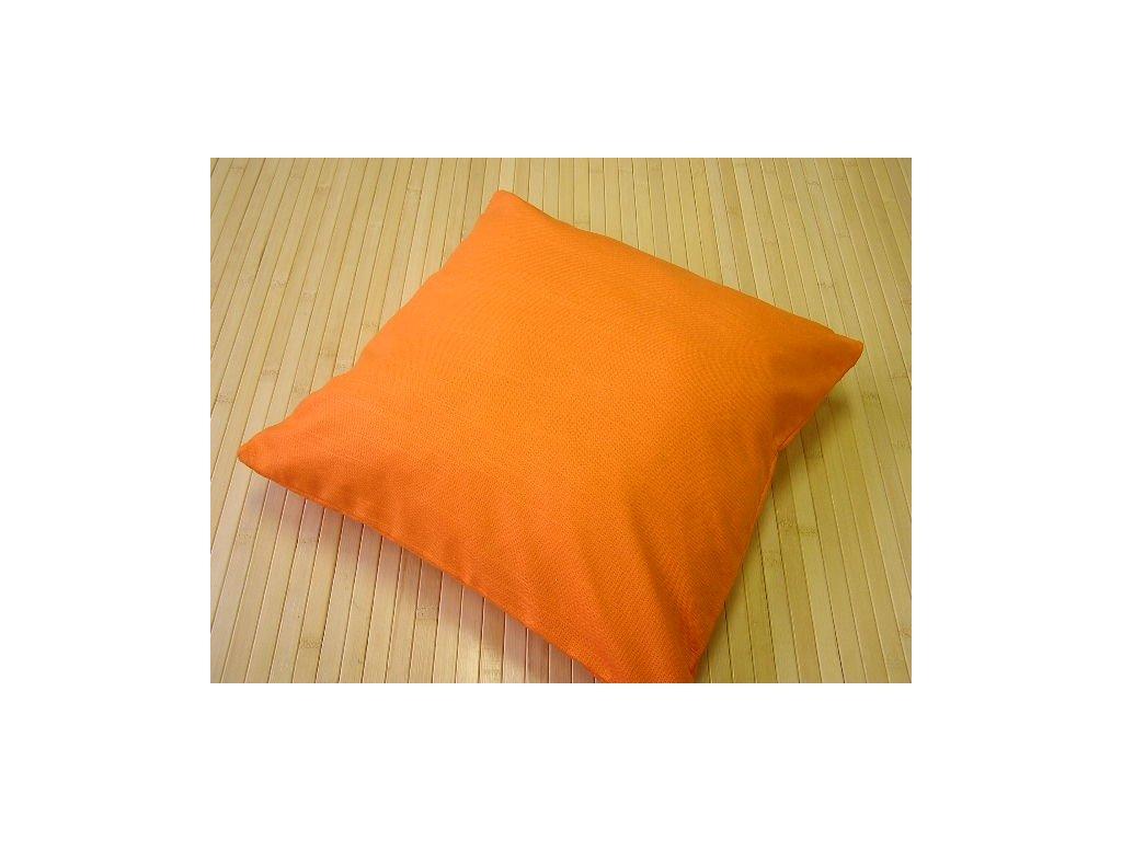 Povlak na polštář - oranžový