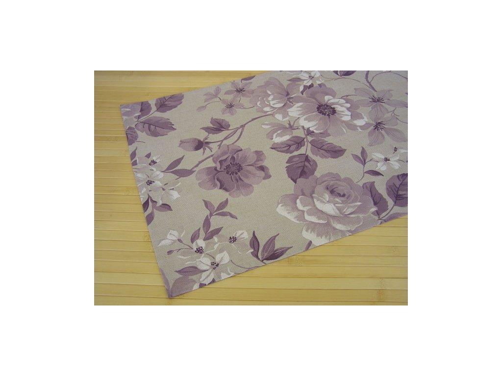 Prostírání - Květ fialový