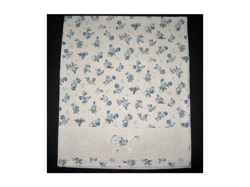 Šál na stůl - Rococo modré