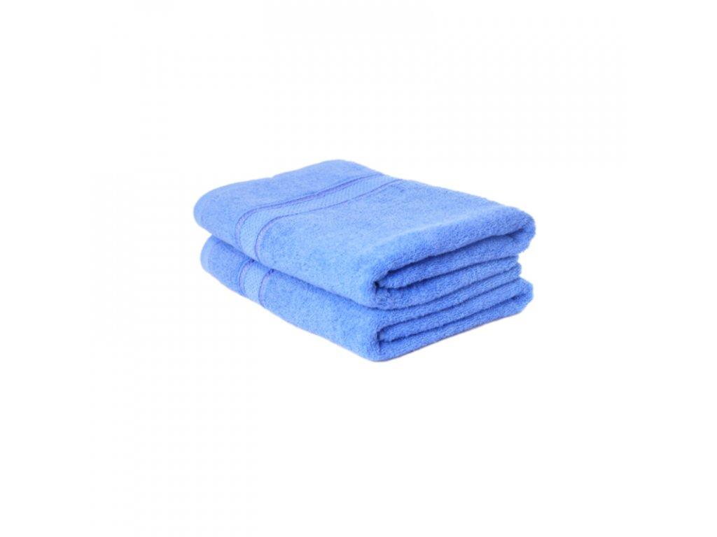Ručník froté Comfort 50x100 - modrá
