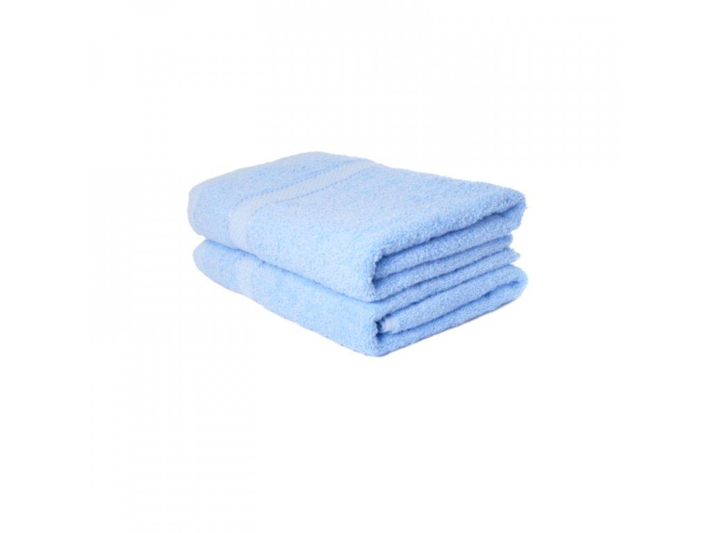 Ručník froté Comfort 50x100 - světle modrá