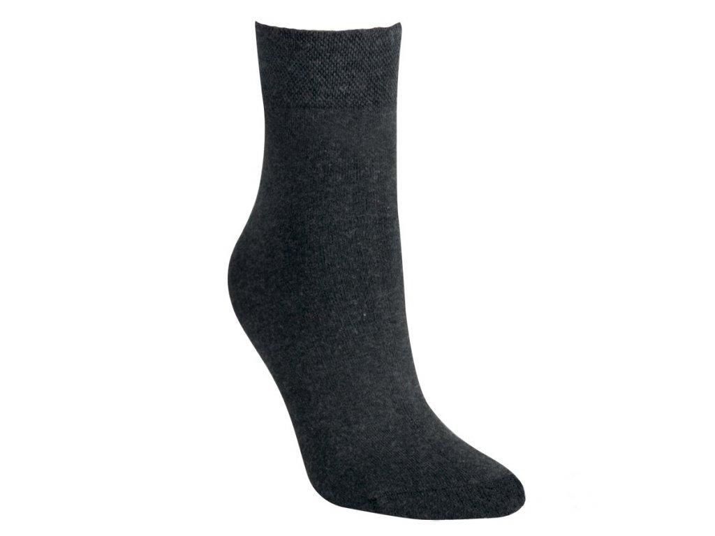 Froté ponožky - antracit