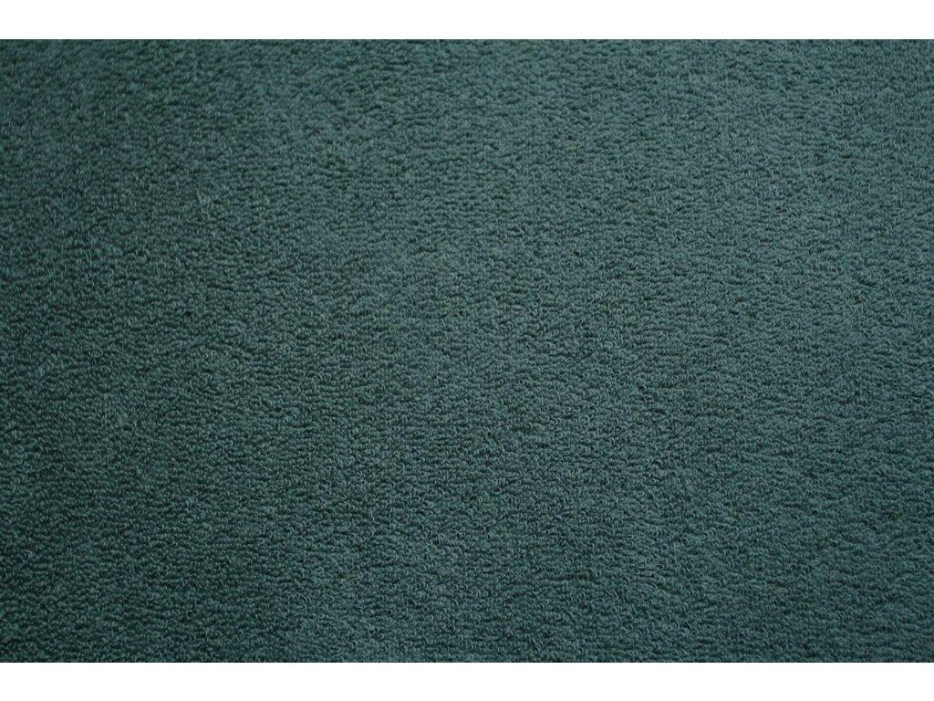 Froté prostěradlo 90x200 - lahvově zelená
