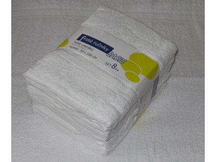 Ručník froté 50x100 - bílý